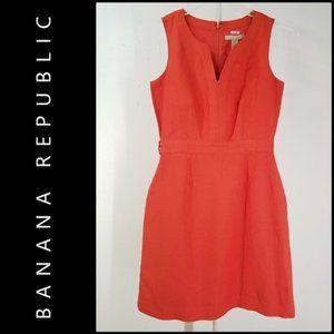 Banana Republic Womens Sleeveless Sheath Dress 0